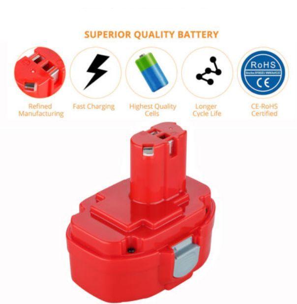 3000mAh 14,4V baterie pro AKU Makita 1422, 1433, 1434, 1435, 192600-1, 192699-A, 193158-3, 193159-1