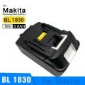 Baterie Makita BL1830, BL1815, BL1850, BL1840 3000mAh 18V Li-Ion nahrazuje ORIGINÁL