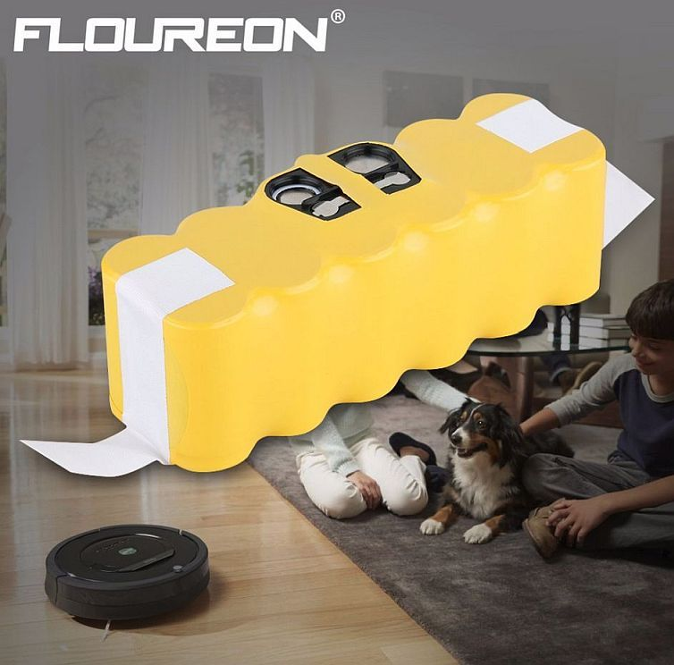 4500 mAh baterie pro iRobot Roomba 510, 530, 535, 540, 555, 560, 562, 564, 570, 581, 610, 700, 760