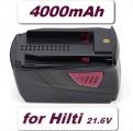 AKU baterie pro Hilti B22 4000mAh 21,6V Li-ion neoriginální