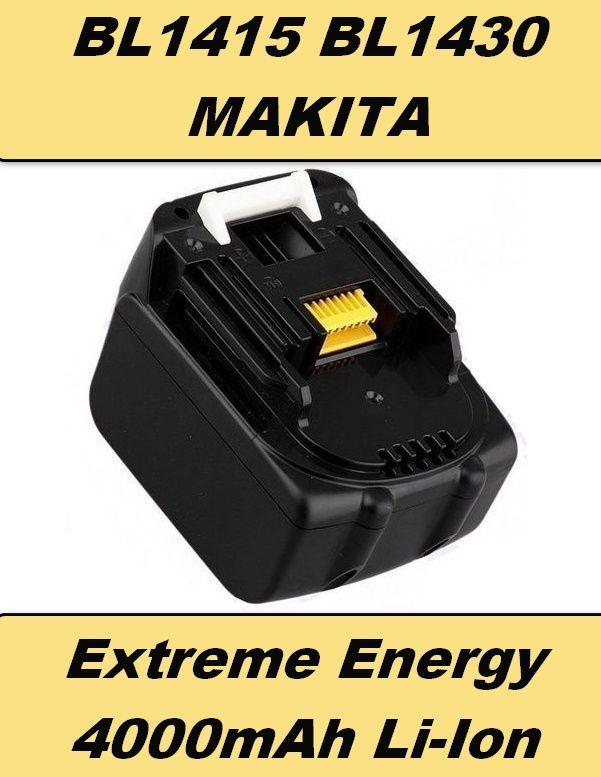 4000mAh Aku baterie Makita 14,4V Li-Ion BL1430, BL1415, 194065-3, 194066-1 neoriginální