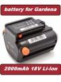 Baterie 09840-20, Bli-18 Gardena TCS Li-18/20, Li-18/23 R, 2000mAh 18V Li-Ion neoriginální