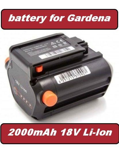 Baterie 09840-20, Bli-18 Gardena TCS Li-18/20, Li-18/23 R, 2000mAh