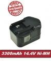 Baterie Milwaukee 0511-21, 0512-21, 0512-25, 0513-20 3300mAh 14,4V Ni-MH neoriginální