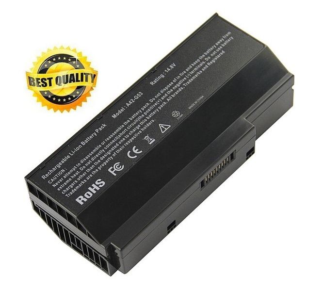 Baterie Asus A42-G53, A42-G73, Asus G53, Asus G73 4400mAh 14,8V