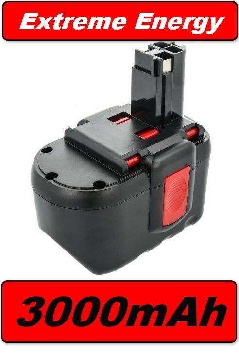 Baterie Bosch BAT030, BAT031, BAT240, BAT299, BTP1005, B-8230 3000mAh 24V Ni-MH