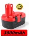 BNBS025 Baterie Bosch BAT025, BAT180, 42T4556, 42T4557, Bosch 1644 18V 3000mAh Ni-Mh neoriginální