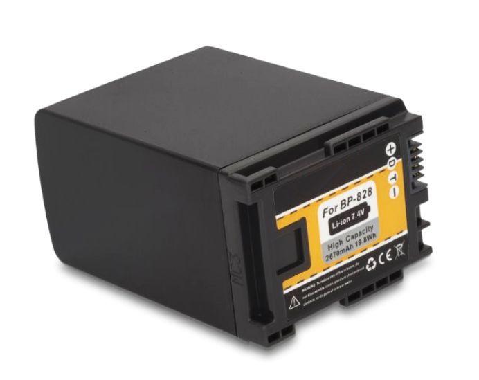 Baterie BP-820, BP-828 2670mAh pro Canon HF G10, M30, M40, S21, S30, XA20...