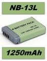 Baterie Canon NB-13L 1250mAh neoriginální