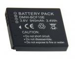 Baterie DMW-BCF10, DMW-BCF10E, DMW-BCF10GK, CGA-S/106C pro Panasonic 940mAh neoriginální