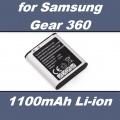Baterie EB-BC200ABE pro digitální kameru Samsung Gear 360, SM-C200 1100mAh Li-Ion neoriginální
