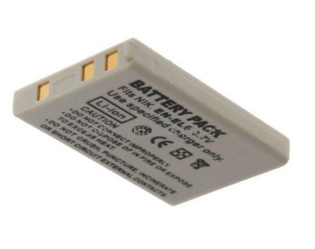 Baterie EN-EL5 900mAh pro Nikon CoolPix 3700, 4200, 5200, 5900, 7900, P500, P510, P520