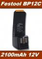AKU Baterie BP12C pro Festool CCD12, CDD12 Ni-MH 12V 2100mAh neoriginální
