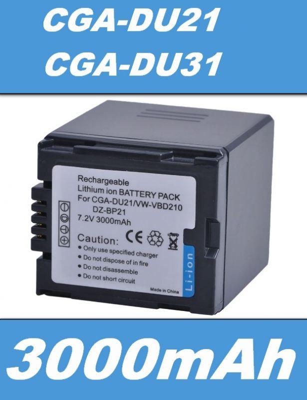 Baterie Hitachi DZ-BP07s, DZ-BP14s, DZ-BP21s 3000mAh Li-Ion neoriginální