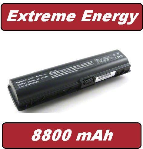 Baterie HP Compaq Presario DV2000, V3000, DV6000, 411462- 141 8800mAh