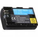 Baterie 2000mAh LP-E6 pro fotoaparát Canon s info čipem