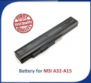 Baterie A32-A15 MSI, Medion Akoya 4400mAh Li-Ion 11,1V neoriginální