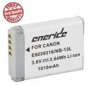 Baterie Canon NB-13L 1010mAh Li-Ion 3,6V neoriginální