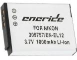 Baterie Nikon EN-EL12 1000mAh Li-Ion 3.7V neoriginální