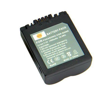 Baterie Panasonic 1400mAh CGA-S006, CGA-S006E, CGR-S006,CGR-S006E