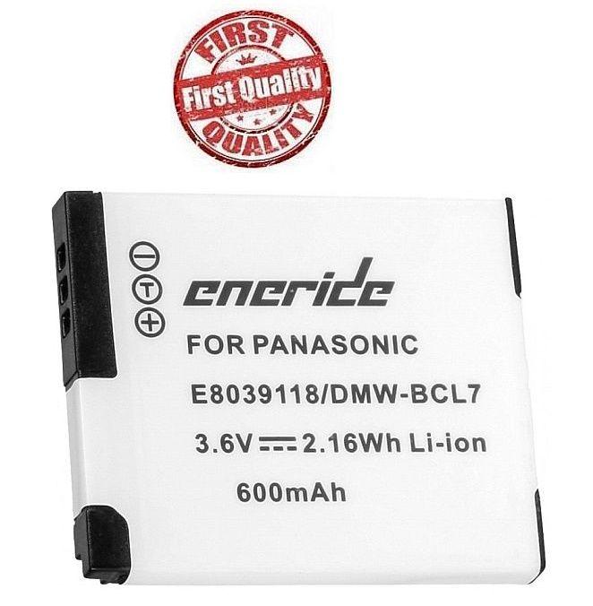 Baterie Panasonic DMW-BCL7, DMW-BCL7E 600mAh Li-Ion 3.7V neoriginální