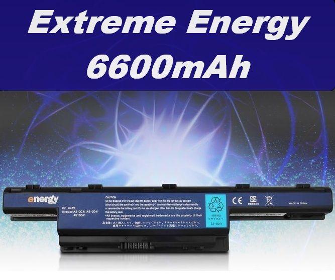 Baterie pro Acer Aspire 4551, 4738, 4741, 4551G, 4771G, 5741G 6600mAh Li-Ion neoriginální
