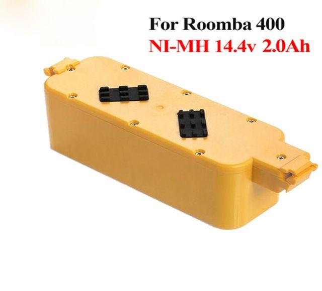 Baterie pro iRobot Roomba 400, 405, 410, 415, 416, 418, 4000, 4100, 4105 - 2000 mAh Ni-MH