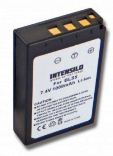 Baterie PS-BLS-5, BLS-5, BLS-50 1000mAh fotoaparátu Olympus E-PL2, E-PL5, E-PL6