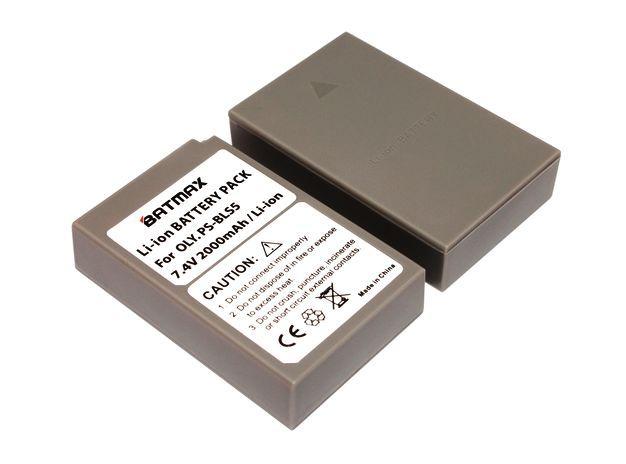 Baterie PS-BLS-5, BLS-5, BLS-50 2000mAh do fotoaparátu Olympus