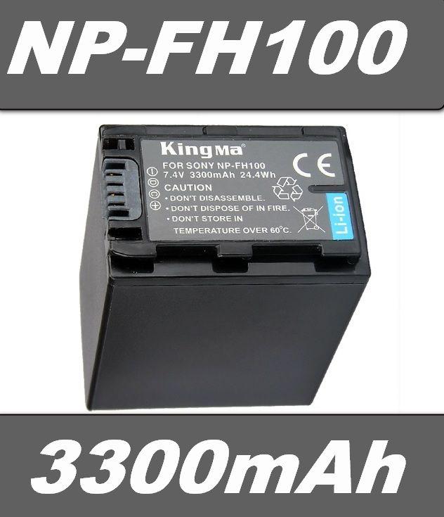 Baterie Sony NP-FH30, NP-FH50, NP-FH70, NP-FH90, NP-FH100 3300mAh Li-Ion neoriginální