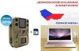 Fotopast SG520 CZ menu + 8GB pam. karta + USB LED svítilna ZDARMA