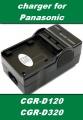 Nabíječka baterie Panasonic CGR-D220, CGR-D320, CGR-D08, CGR-120, CGR-110 neoriginální