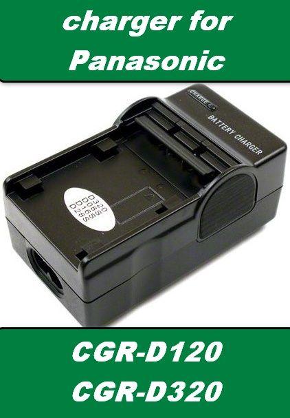 Nabíječka baterie Panasonic CGR-D220, CGR-D320, CGR-D08, CGR-120, CGR-110