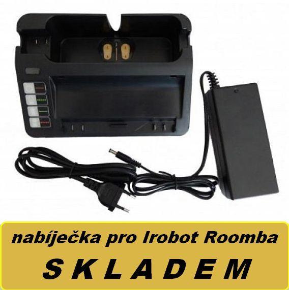 TT Nabíječka baterie 11702, 11700, 17373 pro iRobot Roomba a iRobot Scooba 14,4V neoriginální