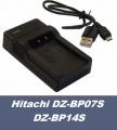 Nabíječka baterie Hitachi DZ-BP07S, DZ-BP14S USB flexibilní, neoriginální