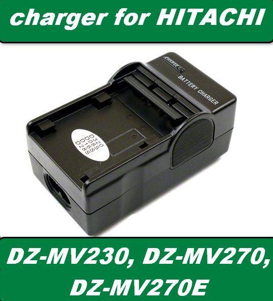 Nabíječka baterie Hitachi DZ-MV230, DZ-MV270, DZ-MV270E - neoriginální