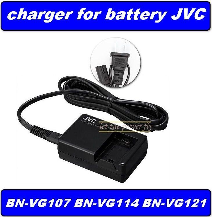 Nabíječka baterie BN-VG107, BN-VG114, BN-VG121, pro kameru JVC