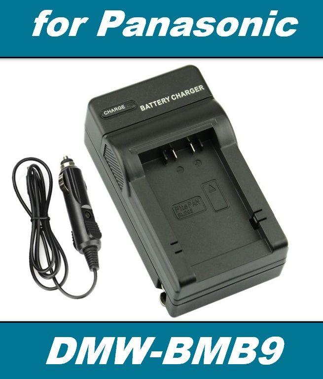 2 v 1 Nabíječka baterie PANASONIC DMW-BMB9, DMW-BMB9GK neoriginální