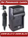 PT1655I Nabíječka baterie Panasonic DMW-BLG10, DMW-BLG10E, DMW-BLH7, DMW-BLE9, BP-DC15 neoriginální