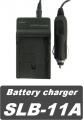 Nabíječka baterie Samsung SLB-11A, SLB-10A 2v1 230V / 12V neoriginální